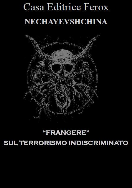 """CASA EDITRICE FEROX- """"FRANGERE"""""""
